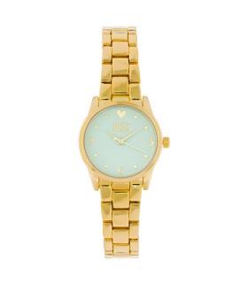 Reloj Imagine Is Real Dorado Menta
