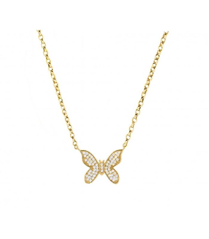 Colgante Mariposa Brilli Oro