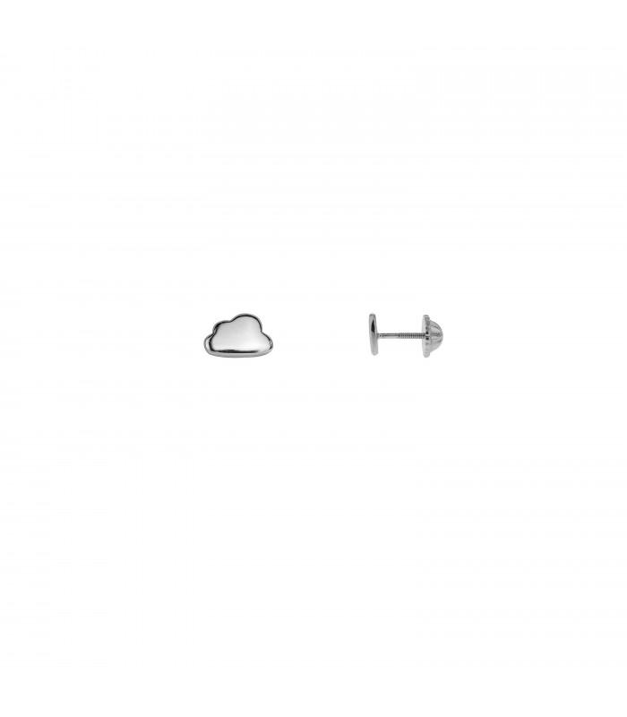 Pendientes Niña Nube Plata