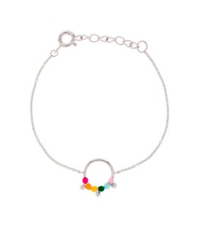 Pulsera Happy Karma Plata