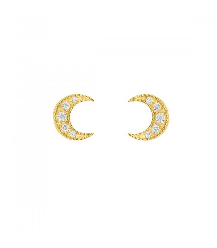 pendientes luna
