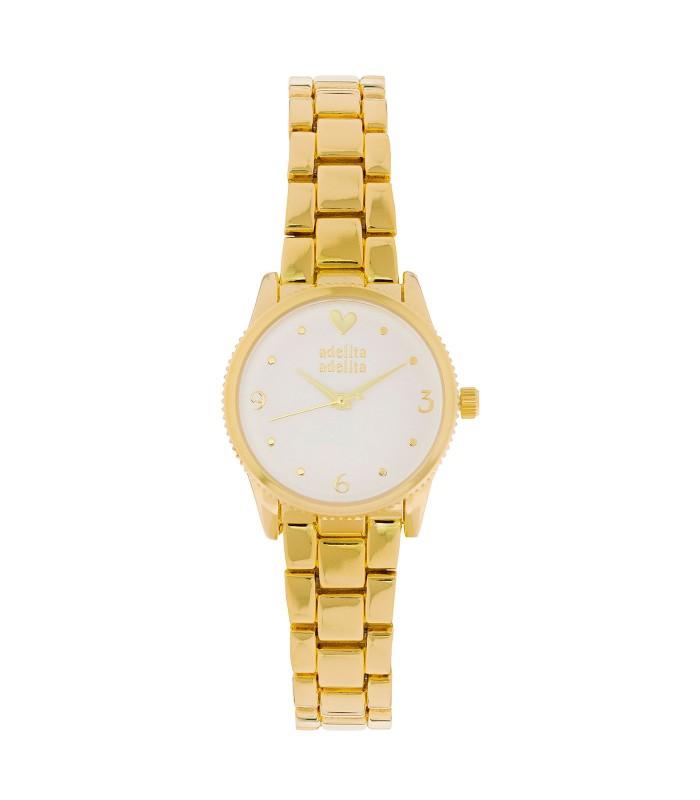 Reloj Imagine Is Real Dorado Blanco