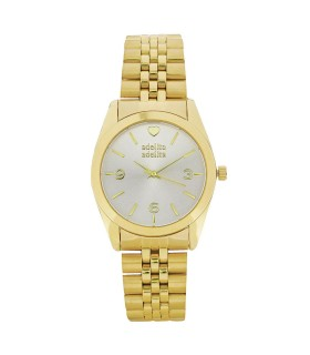 Reloj Say Yes Dorado Blanco