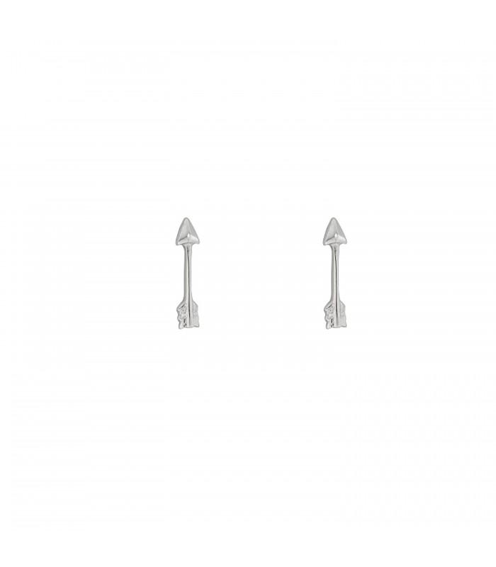 Pendientes Mini Flecha Plata 925