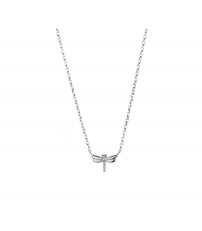 4f46189e154a Colgante en forma de libélula plata