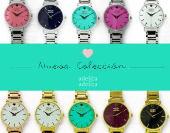 Nueva colección de relojes